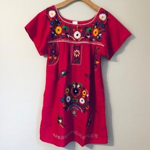 Liliana Cruz Mexican Peasant Dress
